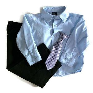 🌸2 for $25🌸Dockers dress shirt, pants, & tie set
